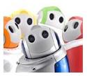 Mini-Roboter Papero (© NEC)
