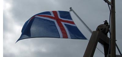 Island-Flagge