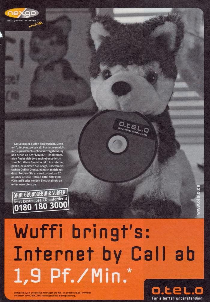 o.tel.o-Anzeige 02/2001