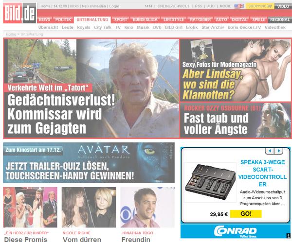 Conrad-Werbung bild.de