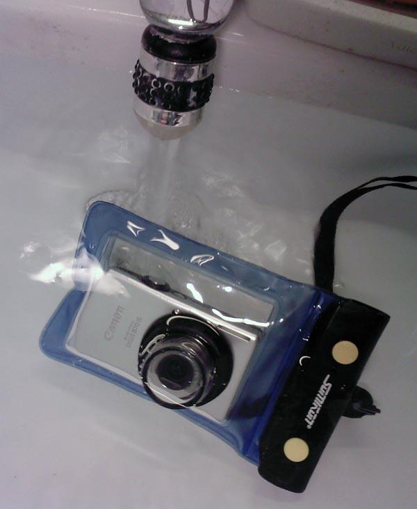 Kamera im Wasser
