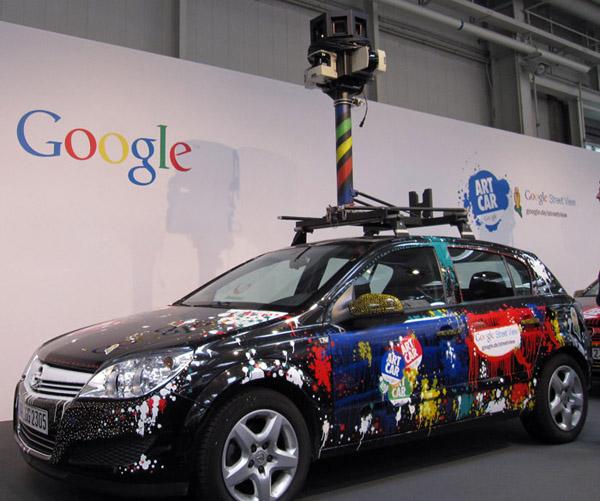 Google Streetview Artcar