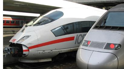 ICE und TGV im Münchner Hbf