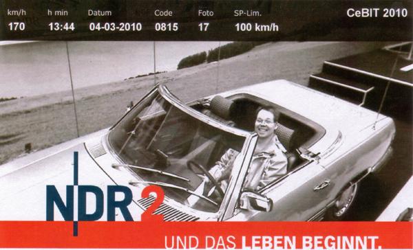 NDR2 Blitzerbild