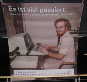 Telekom-Plakat