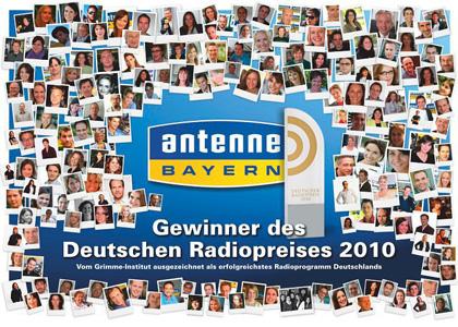 Radiopreis für Antenne Bayern