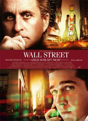 Plakat Wall Street - Geld schläft nicht
