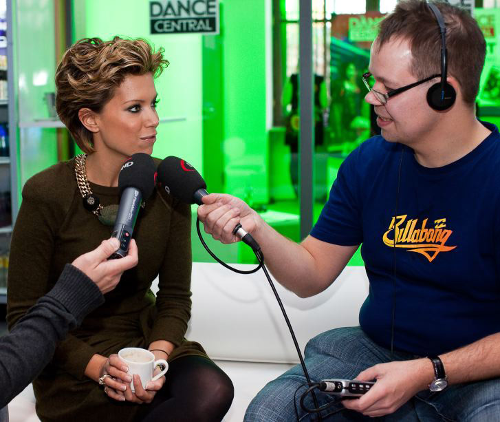 Interview mit Sylvie van der Vaart (Foto: Thorsten Jochim)