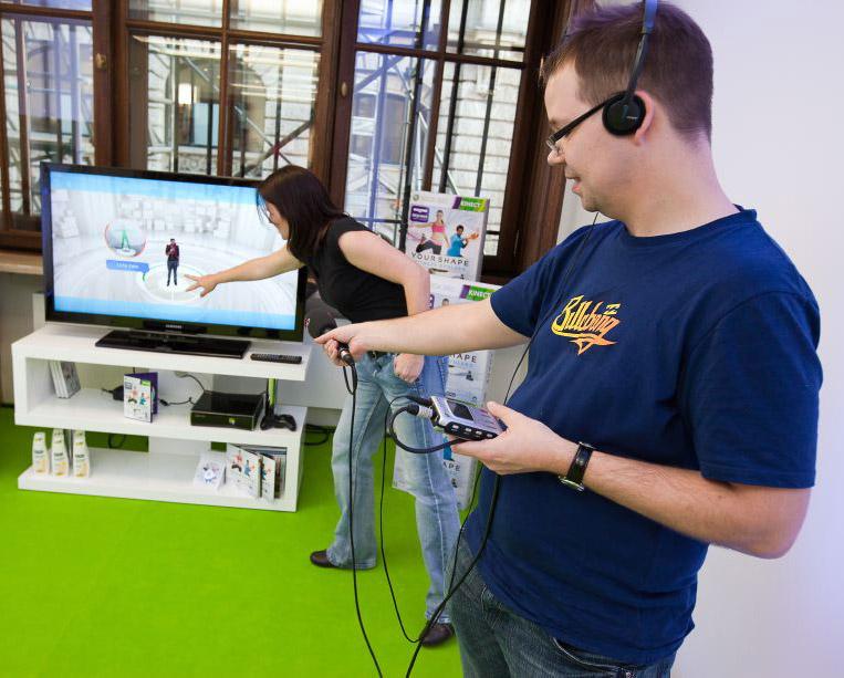 Kinect YourShape (Foto: Thorsten Jochim)