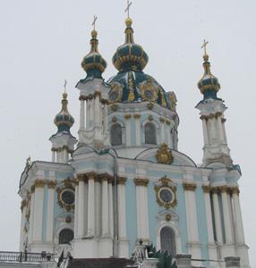 Andreaskirche, Kiew