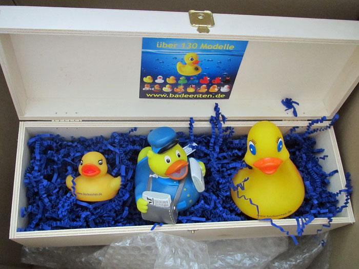 Überraschungspaket 3 Enten