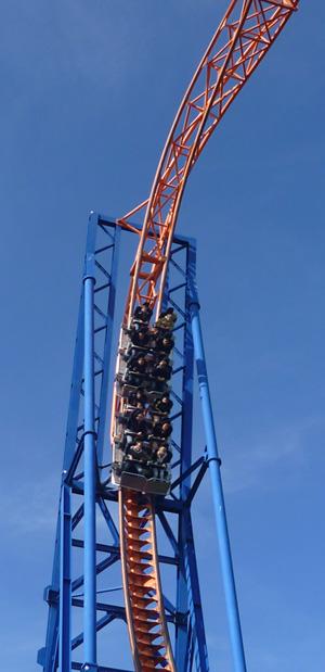 Skywheel-Achterbahn im Skyline Park