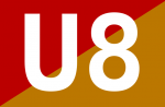 U8-Symbol